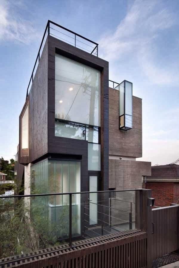 Desain Rumah Ala Korea Selatan Contoh Z