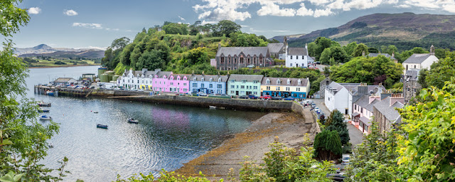 Portree is an extremely charming town on the Isle of Skye - Moniedism