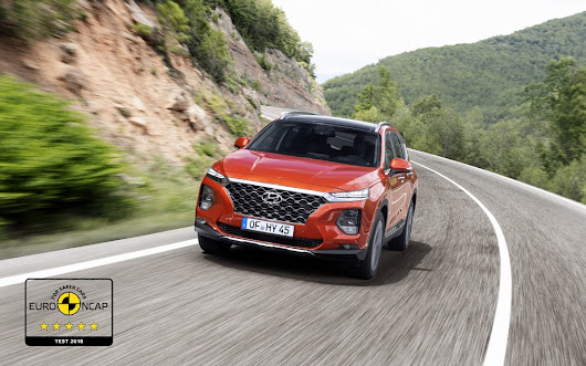 2019 Hyundai SantaFe achieves 5-star Euro NCAP rating