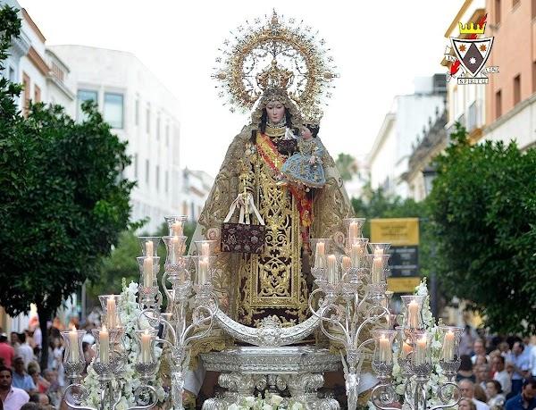 Tampoco tendremos este año, procesión de la Virgen del Carmen en Jerez