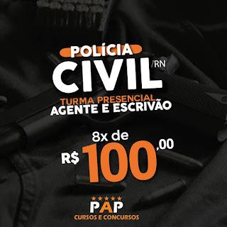 SAIU O EDTAL PARA A POLÍCIA CIVIL (APENAS NÍVEL SUPERIOR)