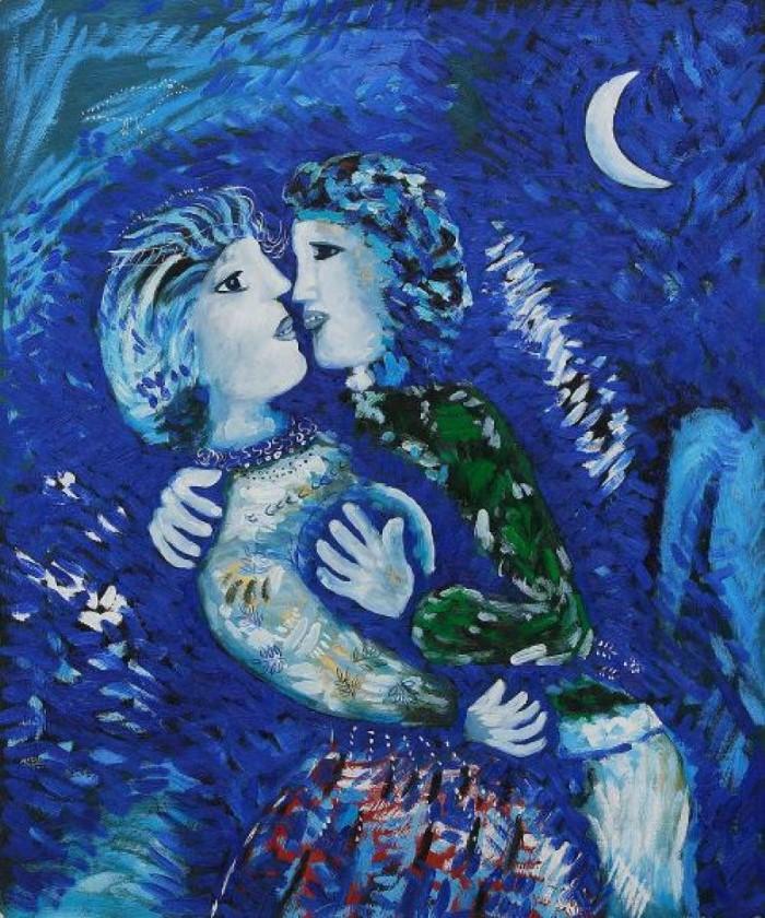 1927 г. Марк Шагал