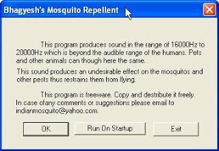 Anti Mosquito Software