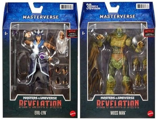 Masterverse: The Evolution of He-Man toys packaging