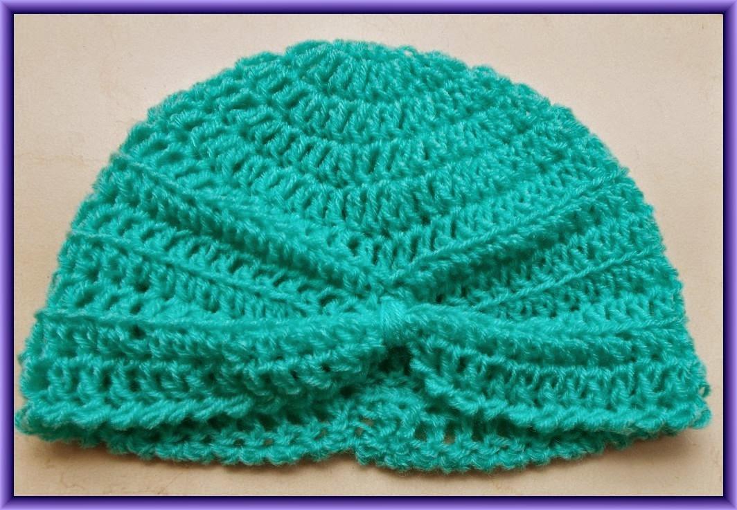 free crochet baby turban pattern
