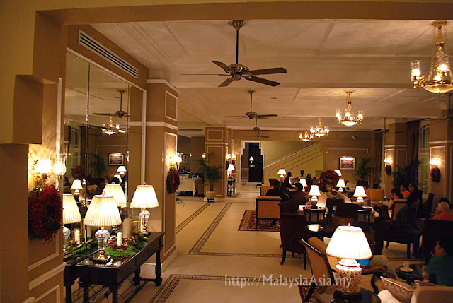 Bar at Majestic Hotel KL