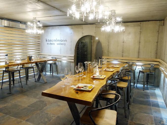 Konzelmann Estate Winery Private Tasting Room