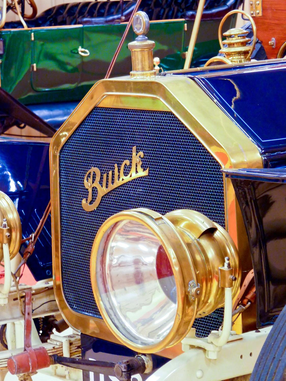 Detalle de Buick Model 5 de 1908, Torre Loizaga, Rolls-Royce