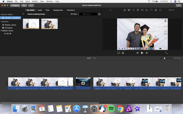 software editing video di macbook
