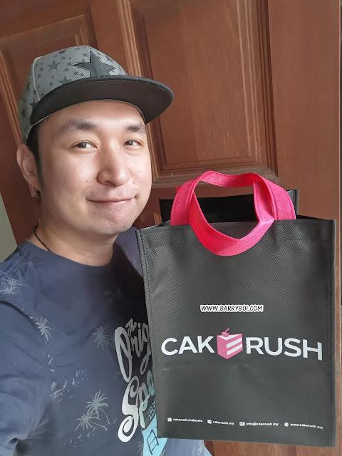 Penang Food Blogger Blog Influencer Malaysia Cake Penang Sweet Passion Premium Cake