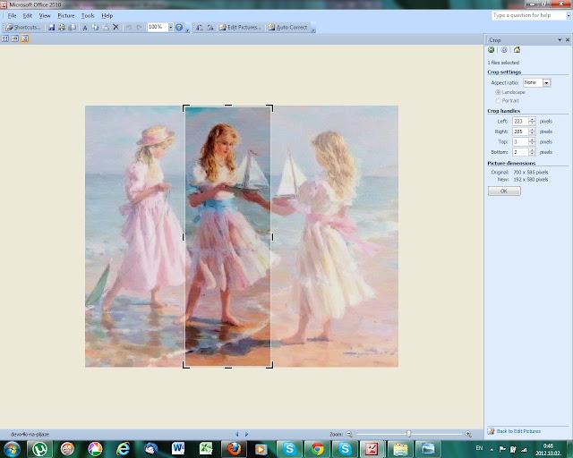 Crop-обрезка изображения в Microsoft Office Picture Manager