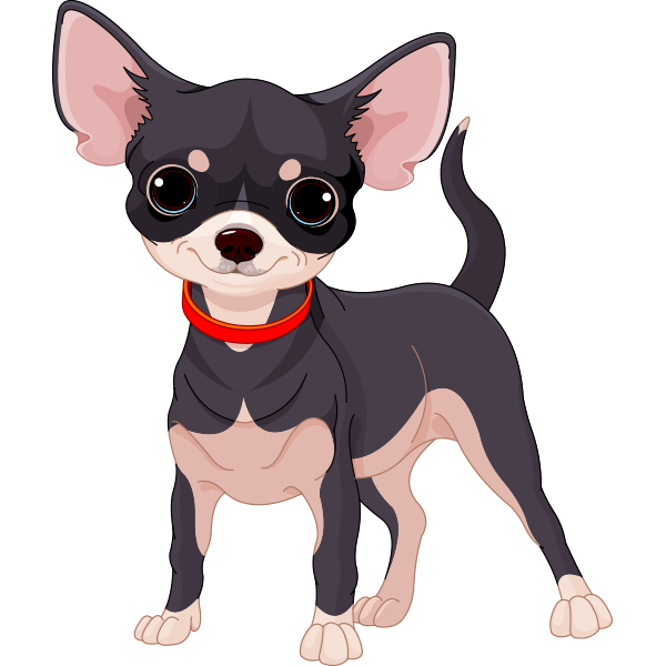 chihuahua dog clipart - photo #1