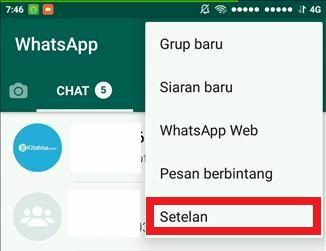 Cara Menghapus Permanen Akun Whatsapp 2