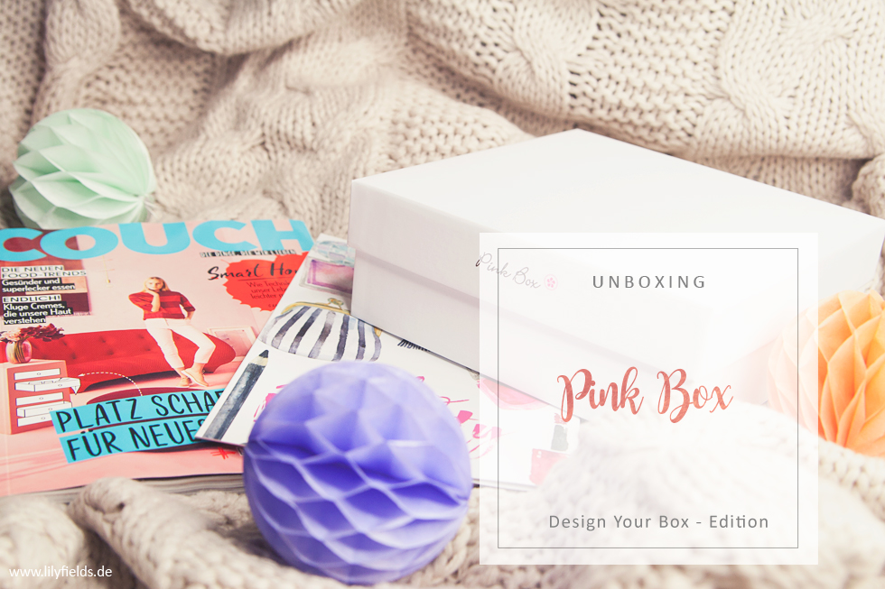 Pink Box - Design your Box - Edition - unboxing
