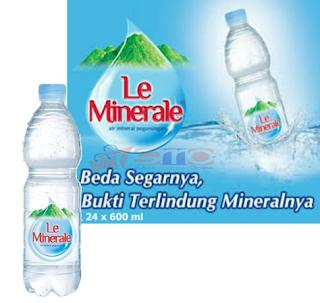 Kandungan Vitamin yang Ada dalam Le Minerale