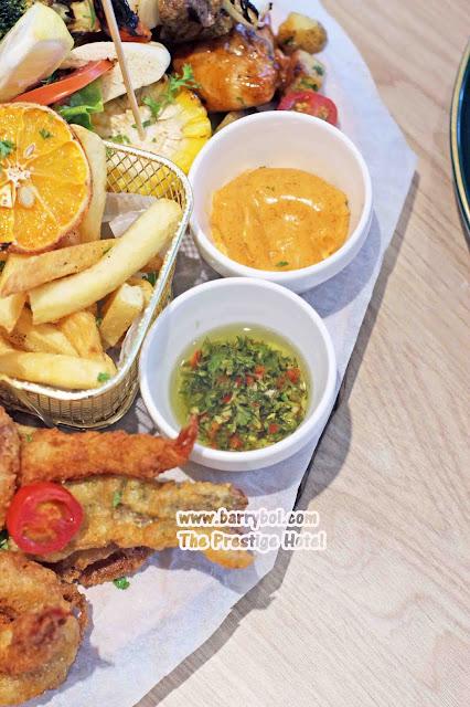 The Prestige Hotel Food  The Glasshouse Mixed Platter  Penang Blogger Influencer