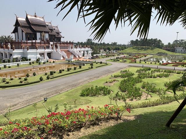 Royal Park Rajapruek grounds