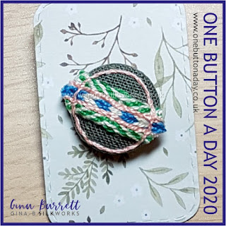 Day 224 : Quandry - One Button a Day 2020 by Gina Barrett