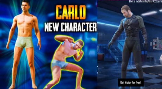 PUBG Mobile Character Carlo Release date, Emotes, Speciality