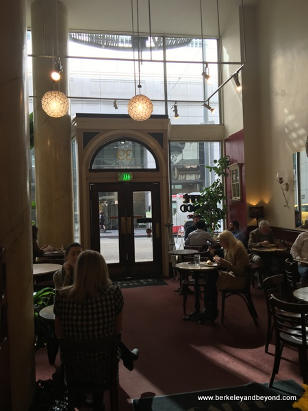 interior of Caffe Bianco in San Francisco