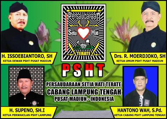 Hanto Wahono, S.Pdi (Ketua Cabang Lampung Tengah)