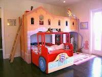 Increíbles camas que les encantarán a los pequeños bomberos