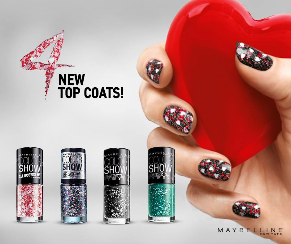Maybelline Colorshow 4 new nail polishes