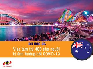 Du học Úc: Visa 408 cho người bị ảnh hưởng bởi COVID-19