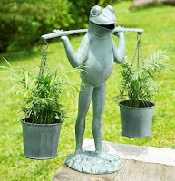 Frog Patio Planter