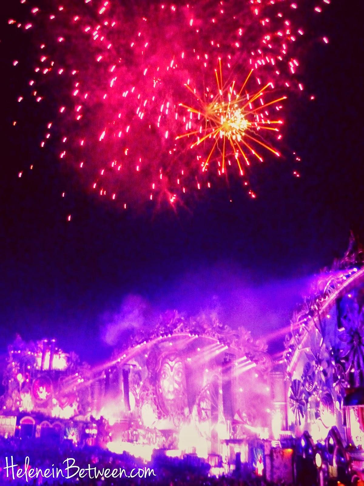 Tomorrowland 2014 Main Stage Fireworks