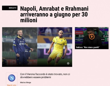 Amir Rrahmani soon to be part of Napoli?