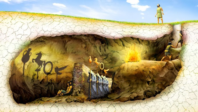 Platon'un Ünlü Mağara Alegorisi