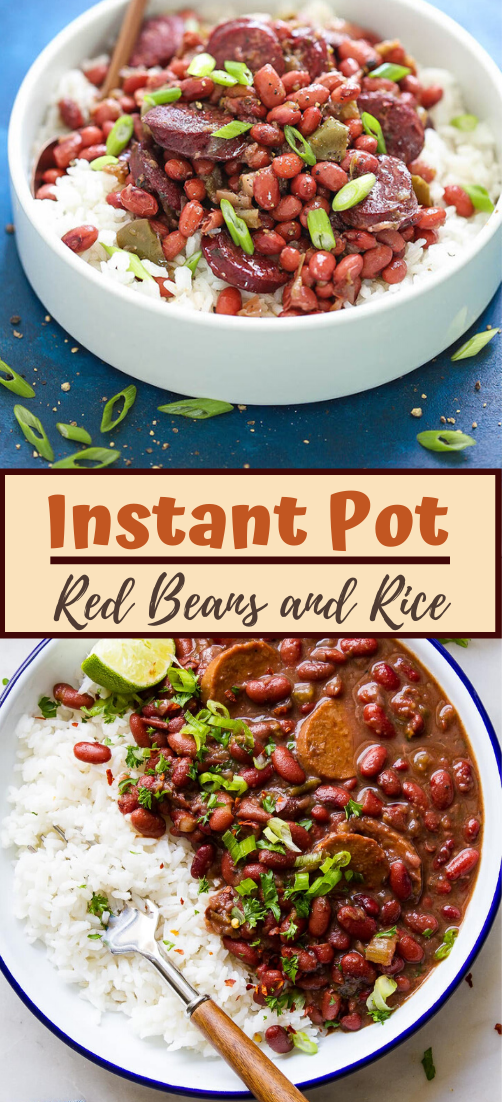 Instant Pot Red Beans and Rice #food #lunchrecipe #vegan #vegetarianrecipe #easyrecipe