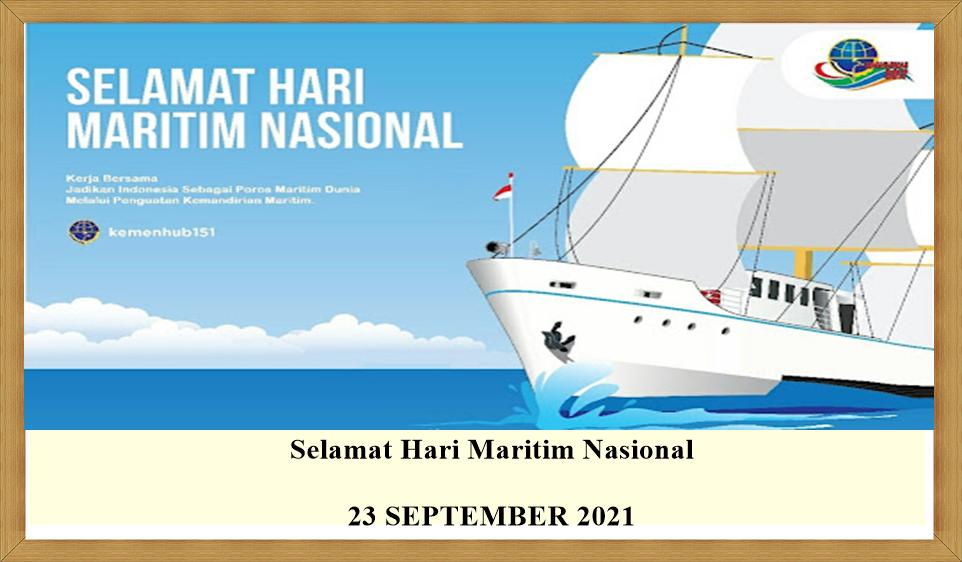 120  Link Twibbon Kata Ucapan Selamat Hari Maritim Nasional 2021, Pasang di WA, IG, FB