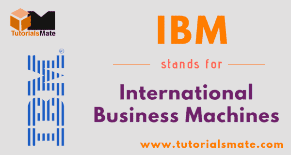 IBM Full Form