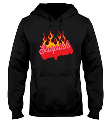 Bailey Sarian merch Suspish Flame T Shirt,  Bailey Sarian merch Suspish Flame Hoodie,