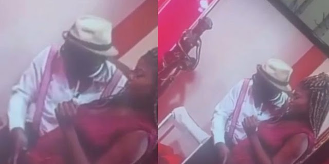 Relationship counsellor, Cyril Lutterodt fingers woman on live TV (video)