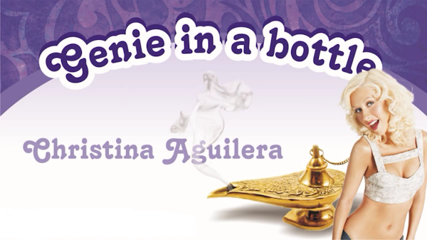 Christina Aguilera: Genie Atrapado in a Bottle, Spanglish - Official Website - BenjaminMadeira