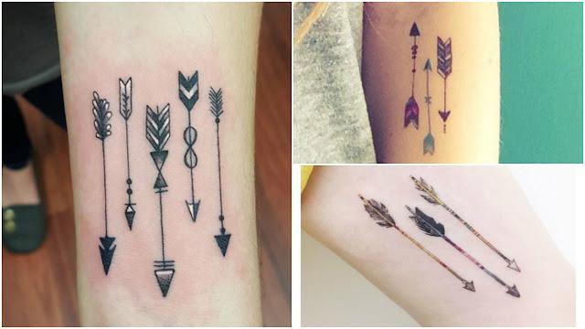 Tatuagem de flechas