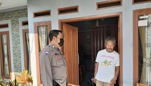 Bripka Iman, Binmas Bojongsoang Polresta Bandung Sambangi Warga Berpesan Kamtibmas
