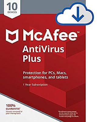 McAfee Internet Security Promo Registration for 180 Days on Virus Solution Provider