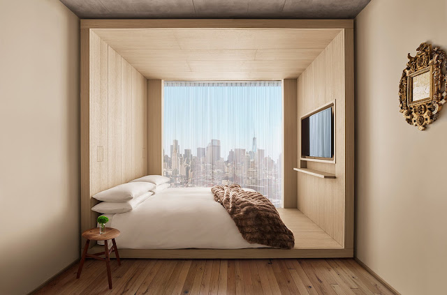 At PUBLIC, an Ian Schrager hotel in New York, the universally appealing guest rooms are thoughtfully designed, down to every last finish and detail.