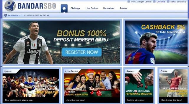 Agen Bola dan Domino Online Indonesia Terpercaya
