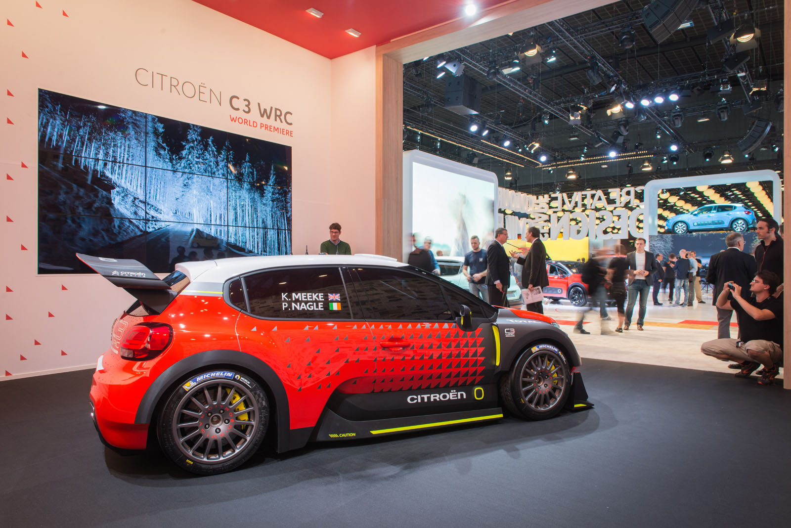 Citro 235 N C3 Wrc Concept Previews A Return To Rally