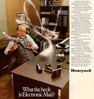 Honeywell -- What the heck is electronic mail?