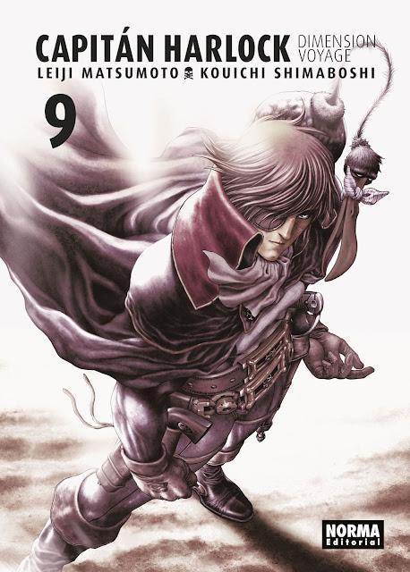 Reseña de Capitán Harlock: Dimension Voyage vol. 9, de Leiji Matsumoto y Kouichi Shimaboshi - Norma Editorial