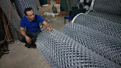 Pabrik Kawat Harmonika Galvanis SNI