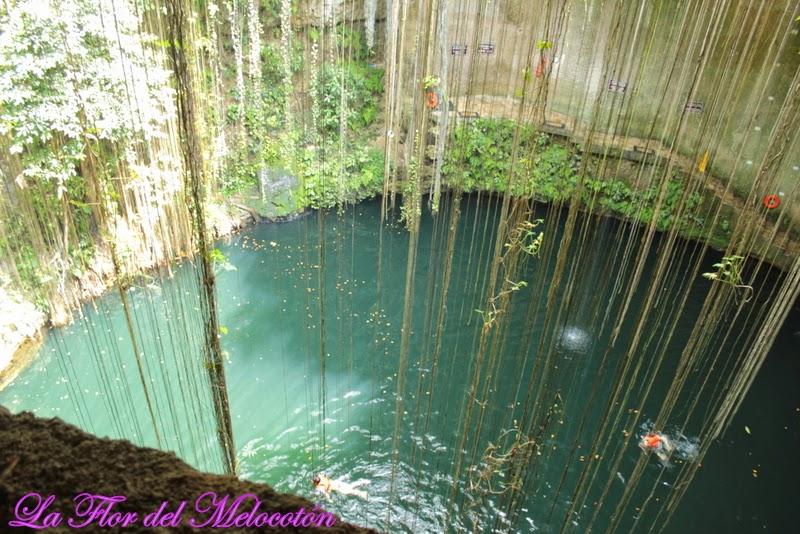 Cenote Ik kil/ Vacaciones en la Riviera Maya