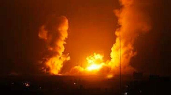 Bombardeo israelí mata a dos palestinos y deja cinco heridos