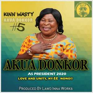Kinn Wasty – Akua Donkor (Campaign Song)(Prod. By Lawd Inna Works)